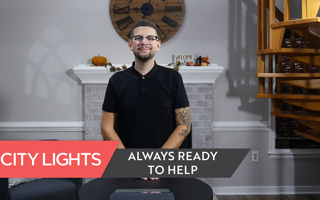 Cover image of the City Lights Church message called Always Ready to Help.