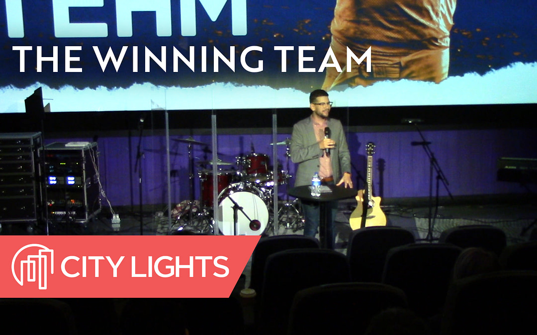 Cover image of The Winning Team message